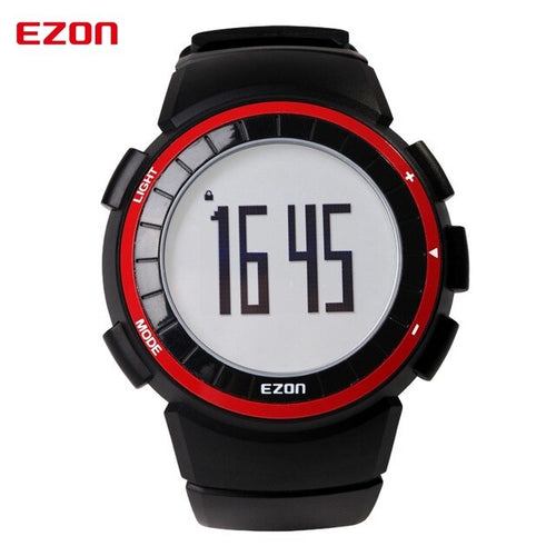 EZON Sports Waterproof Wrist Watches with Pedometer Calories Counter