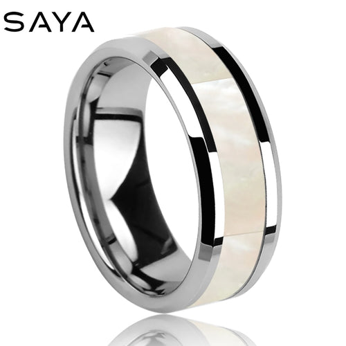 Tungsten Metal Carbide Men's Ring