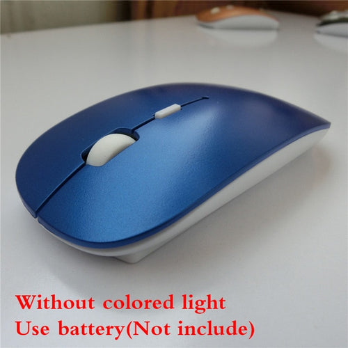 RGB Rechargeable  Wireless Computer Mouse with LED