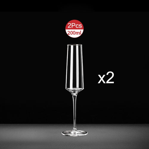 Crystal Glass champagne Flutes