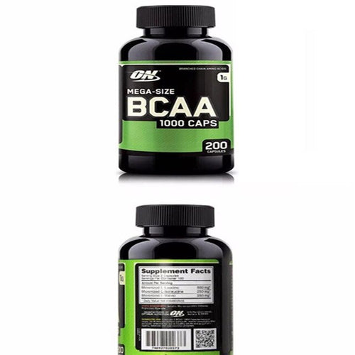 ON Optermon BCAA Branched Chain Amino Acids Capsules