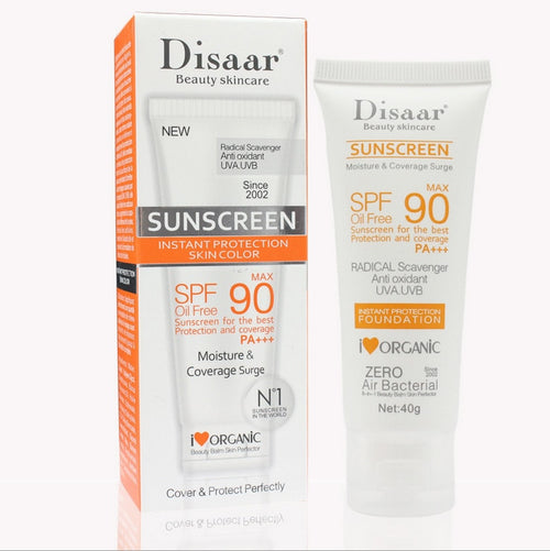 Disaar Facial SPF 50+ or SPF 90+ Moisturizing Sunscreen