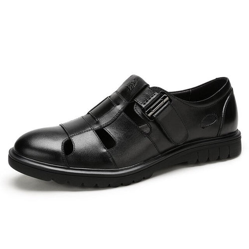 Men's Genuine Leather Breathable Sandals Shoes