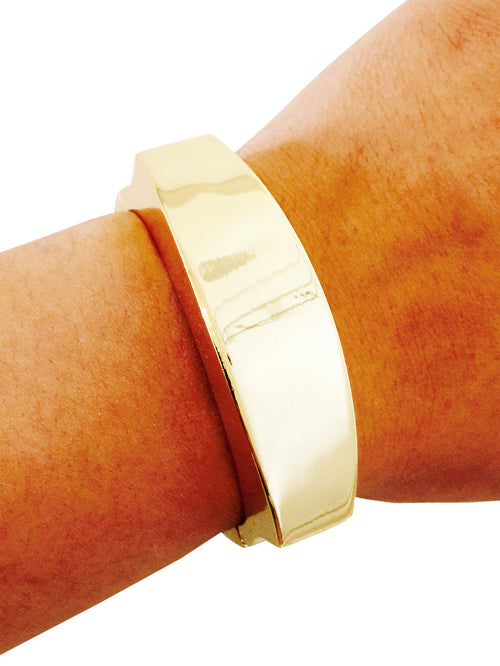 Tory Gold Bangle Fitbit Bracelet for Fitbit Flex or Flex 2 Activity Trackers