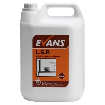 Liquid Spray wood Polish 5L - ACE DOT SERVICES LTD
