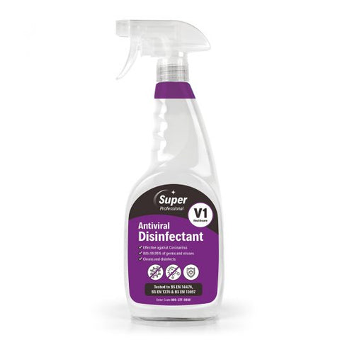 NEW – V1 Antiviral Disinfectant (750ml) - ACE DOT SERVICES LTD