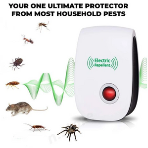 60% OFF>>The Ultrasonic Pest Repeller