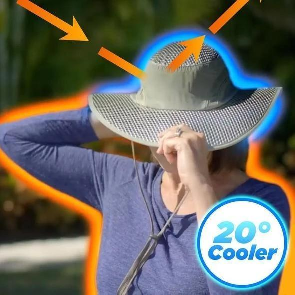 Father's Day Hot Sales-Sunstroke-Prevented Cooling Hat-Buy 2 Free Shipping