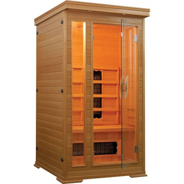 1 persoons infrarood Sauna Punto 94x101x190 1350W