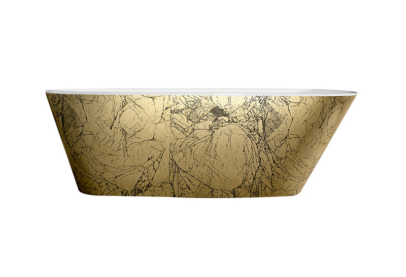 Best-Design Color-Goldfeeling vrijstaand bad 172x75x60cm