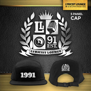 "Lyricist Lounge ""1991"" 5 Panel Cap"