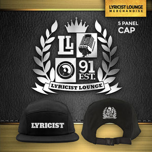 "Lyricist Lounge ""Lyricist"" 5 Panel Cap"