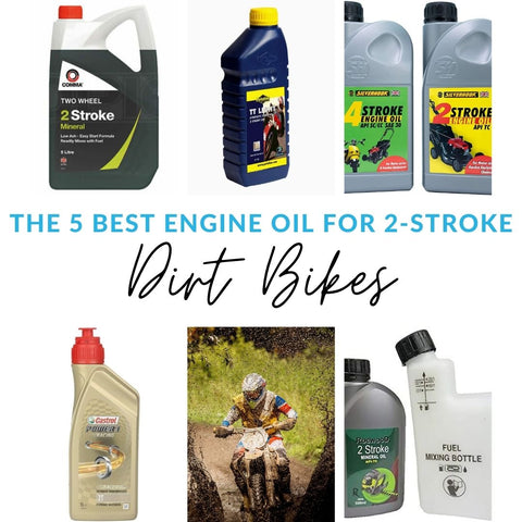The 5 Best Engine Oil for 2-Stroke: