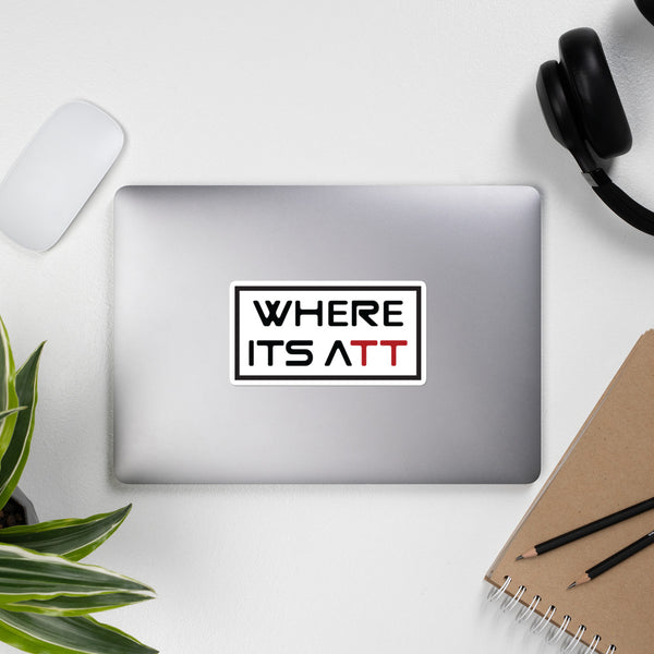 Where It's ATT - Logo Stickers | Where It's ATT Merchandise