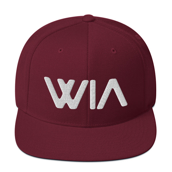 Snapback Hat - Red | Where It's ATT Merchandise