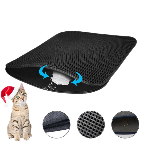Multifunctional Foldable Cat Litter Pad