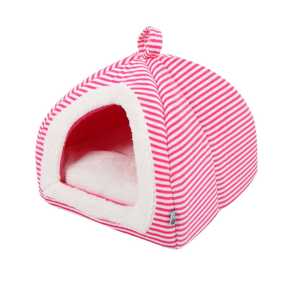 Warm Folding Storage Teddy Yurt Pet House