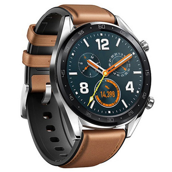 HUAWEI GT Two-Week Battery Life / Outdoor Sports Management / Real-time Heart Rate / HD Color Screen / Online Payment / GPS Smart Watch  Global Version