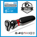 Ufree-121 4D smart male rechargeable three-head electric razor multi-function hair beard razor