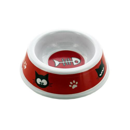 Cat Print Pet Dish ( Case of 48 )