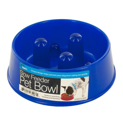 Slow Feeder Dog Food Bowl ( Case of 48 )
