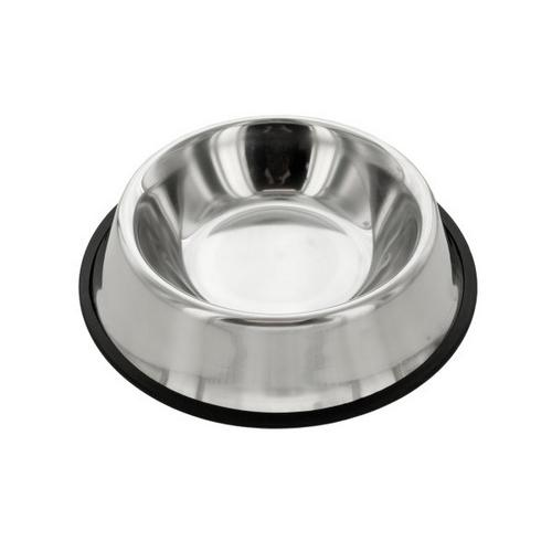 Stainless Steel Anti-Slip Pet Bowl ( Case of 10 )