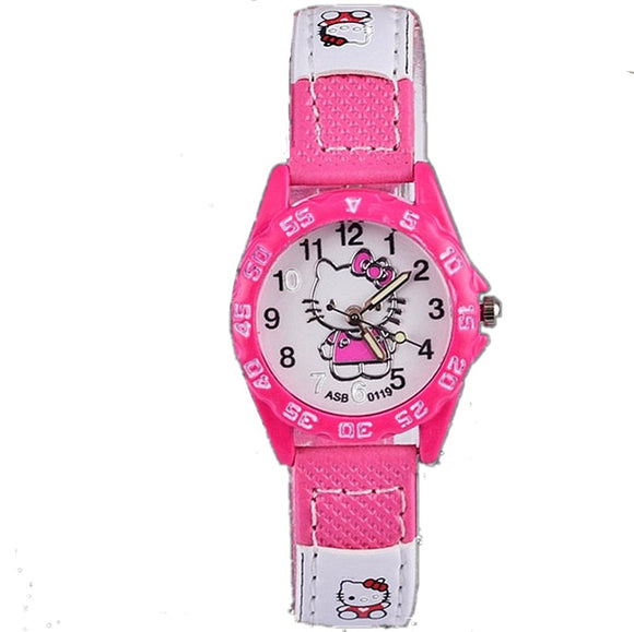 2019 New Kid Cute Cartoon Brand Silicone Strap Watches Enfants Girls Clock Women Children Boy Baby Nylon Saats Relogio Infantil