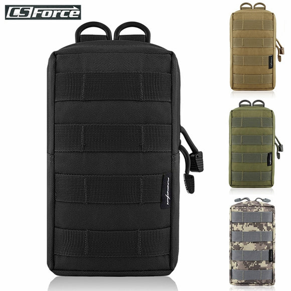 Tactical Molle Pouch Bag Utility EDC Pouch for Vest Backpack Belt Outdoor Hunting Waist Pack Military Airsoft Game Accessory Bag
