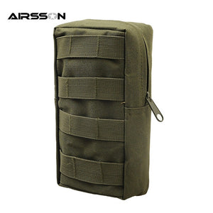 Airsson Airsoft Sports Military 600D MOLLE Pouch Bag Tactical Utility Bags Vest EDC Gadget Hunting Waist Pack Outdoor Equipment