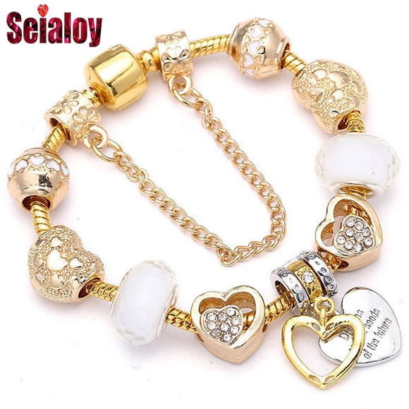 SEIALOY Fashion Gold Brands Bracelets For Women