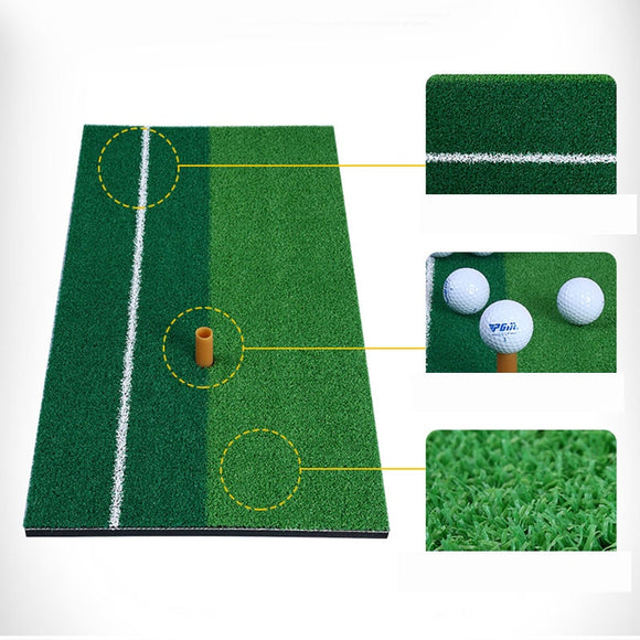 Wholesale Indoor Home Office Golf Swing Practice Training Mats Pad with Rubber Ball Tee Holder for Trainer Beginner 60*30cm
