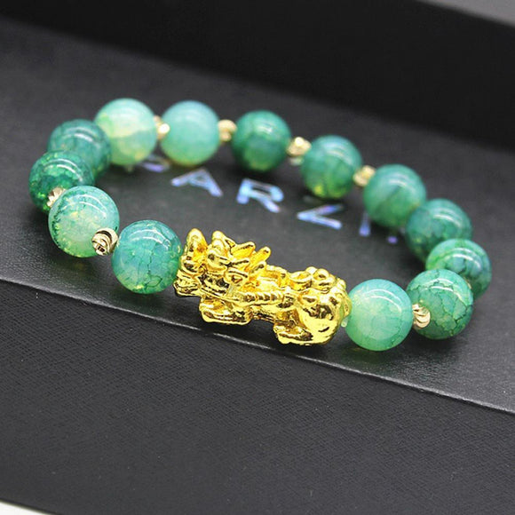 Gold plating PIXIU Bracelet Bring Luck Wealth