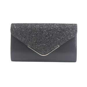 Aelicy Women's Clutch Silver Ladies' Evening Purse Vintage Chain Wallet Party Envelope Phone Handbag