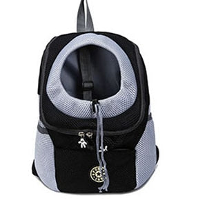 Venxuis Outdoor Pet Dog Carrier Bag Pet Dog Front Bag New Out Double Shoulder Portable Travel Backpack Mesh Backpack Head