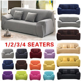 Plain Solid Pattern Slipcovers Sofa Cover Stretch Sofa Covers for Living Room Couch Cover Sofa Towel Chair Sofa Cover funda sofa