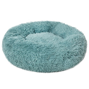Luxury Soft Plush Dog Bed Round Shape