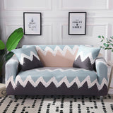 Geometric Stretch Sofa Cover Cotton Elastic Corner Sofa Towel Single Couch Cover Sofa Covers for Living Room Pets funda sofa