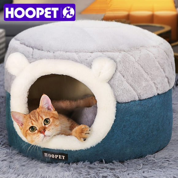 HOOPET Cat Bed House Soft Plush