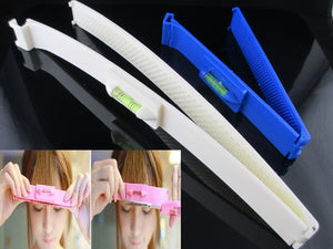 2pcs/set Fashion DIY Professional Bangs Hair Cutting Clip Comb Hairstyle Typing Trim Tool