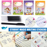 Magic Practice Copybook 4PCS
