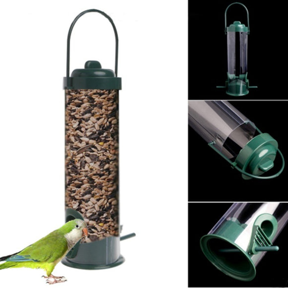 Pet Parrot Cage Water Drinker Feeder