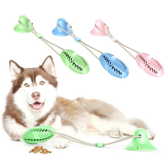 2020 Newest Pet Molar Bite Toy Chew with Floor Suction Cup