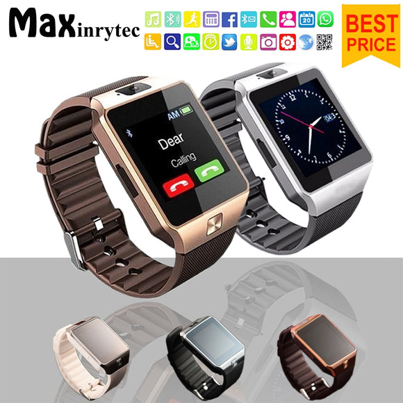 Bluetooth Smart Watch DZ09 Android Phone TF Sim Card Camera Men Women Sport Wristwatch For Iphone IOS PK Y1 A1 GT08 Smartwatch
