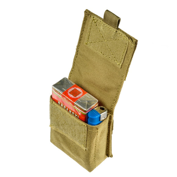 Military Molle Pouch Tactical Single Pistol Magazine Pouch Sheath Airsoft Hunting Ammo Camo Bags New