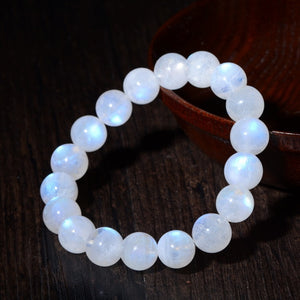 Luxury Natural Crystal 5A Blue Labradorite Bracelet Moonstone Bracelet Female Labrador Bracelet for Women