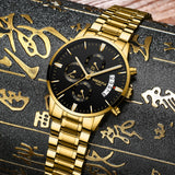 NIBOSI Watch Men Waterproof Casual Luxury Brand Quartz Military Sport Watch Business Clock Men's Wristwatches Relogio Masculino