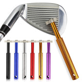 Golf Sharpener Golf Club Grooving Sharpening Tool Golf Club Sharpener Head Strong Wedge Alloy Wedge Sharpening Cut 6 colors