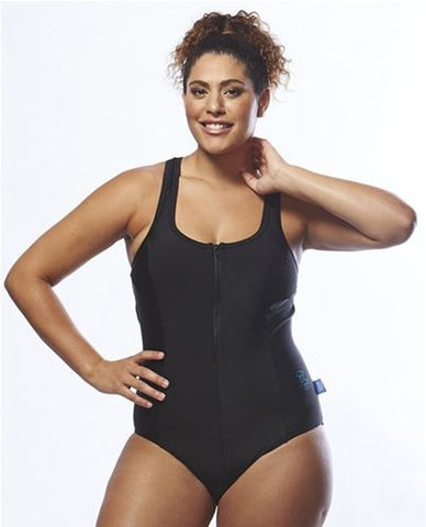 Racerback Swimsuit - Black