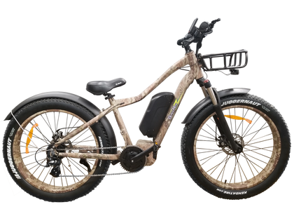 Mid Drive Electric Fat Tire Bikes