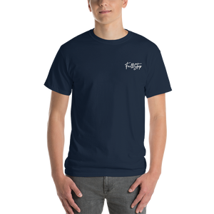 Open image in slideshow, Unisex Embroidered Signature Tee